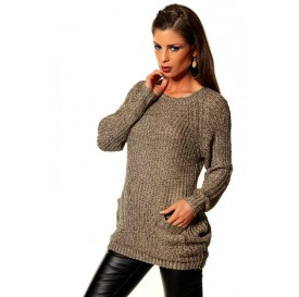 Dámsky pulóver - voľný (univerzálna veľkosť)